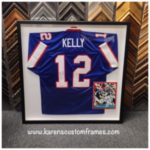 Sports Jersey | Custom Design and Framing by Karen's Detail Custom Frames