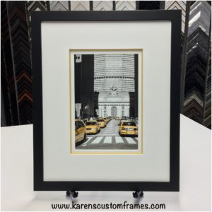 Photographic Art Print | Custom Design and Framing by Karen's Detail Custom Frames, Orange County CA