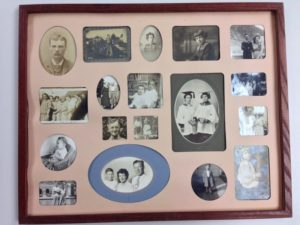 Original family photo collage
