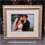 Wedding Photography | Custom Design and Framing by Karen's Detail Custom Frames