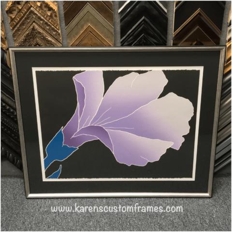 Custom Picture Framing Orange County Karen S Detail
