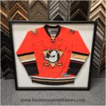 Sports Jersey | Custom Design and Framing by Karen's Detail Custom Frames, Orange County CA