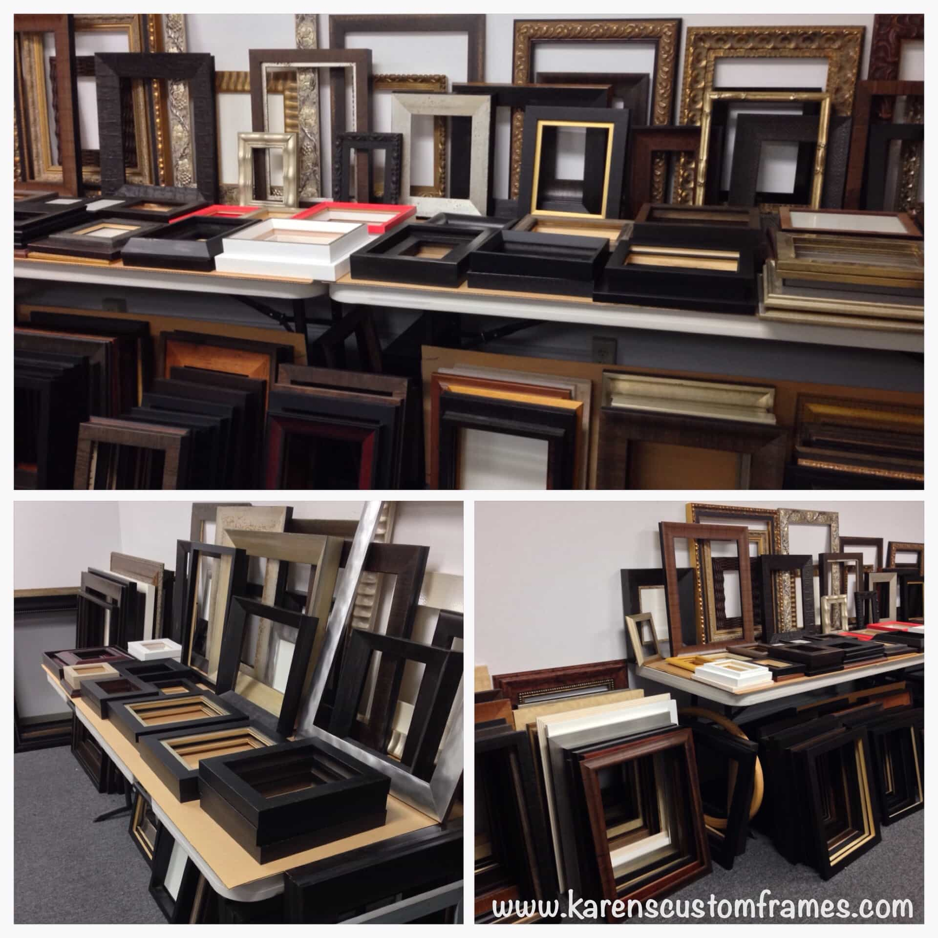 Ready-Made Picture Frames by Karen's Detail Custom Frames