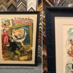 Vintage Poster Custom Frame