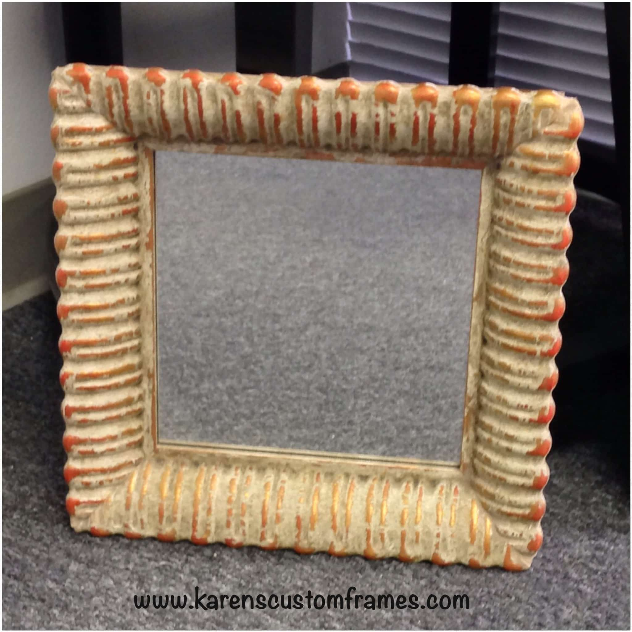 Custom Framed Mirrors by Karen's Detail Custom Frames