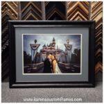 Wedding Photo | Custom Design and Framing by Karen's Detail Custom Frames