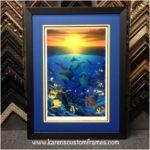 Fine Art | Custom Design and Framing by Karen's Detail Custom Frames