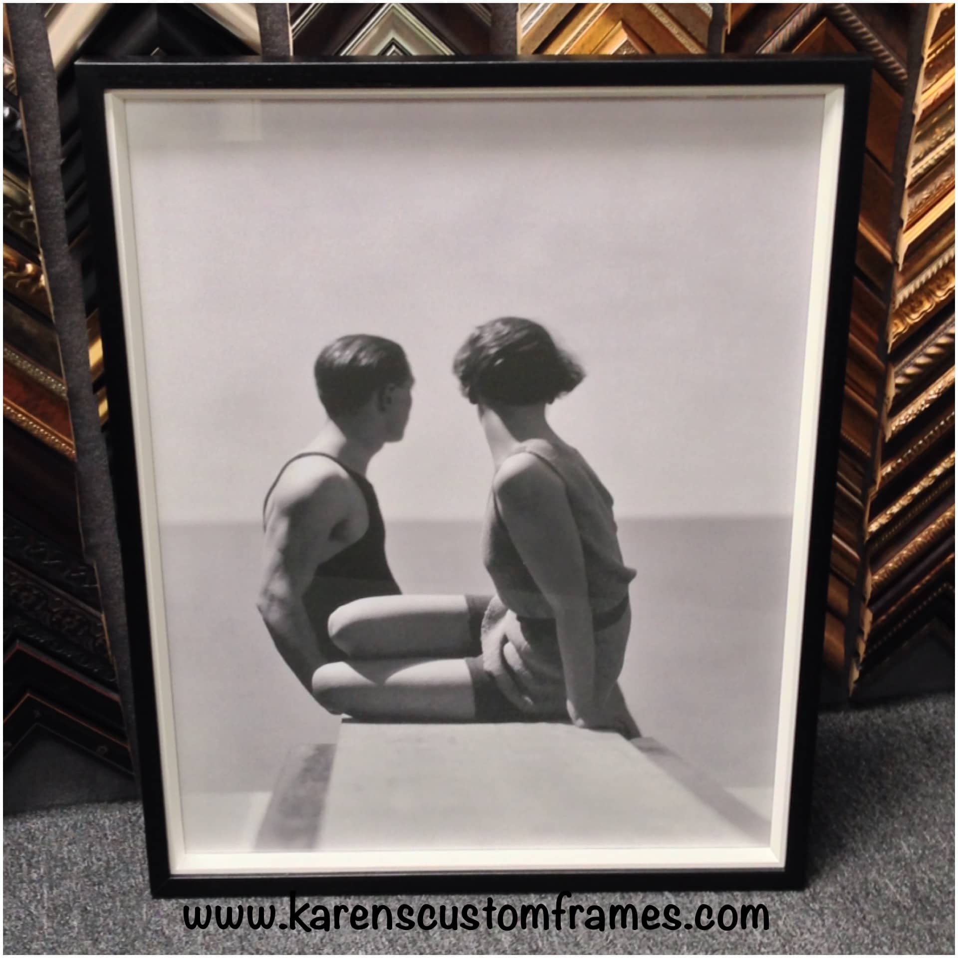 Custom Picture Framing Orange County | Karen\'s Detail Custom Frames