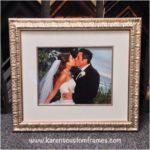 Wedding Photography | Custom Design and Framing by Karen's Detail Custom Frames