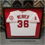 Sports Jersey | Custom Design and Framing by Karen's Detail Custom Frames