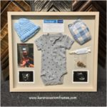 Baby Memorabilia | Custom Design and Framing by Karen's Detail Custom Frames, Orange County CA