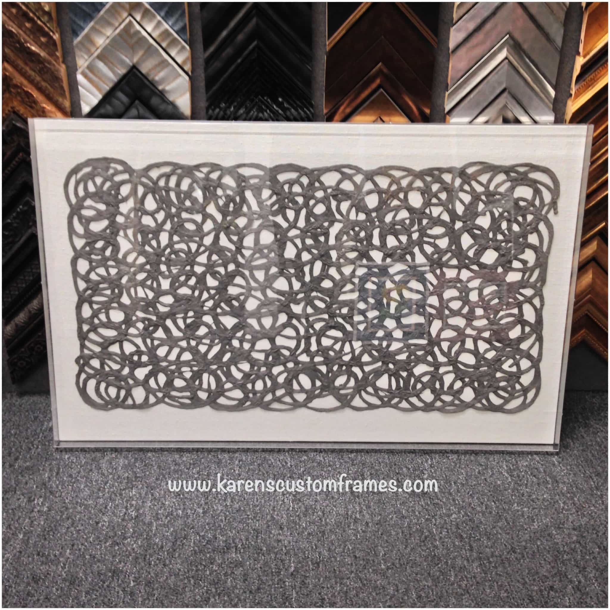 Acrylic Box | Custom Design and Framing by Karen's Detail Custom Frames