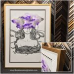 Canvas Art Print | Custom Design and Framing by Karen's Detail Custom Frames, Orange County CA