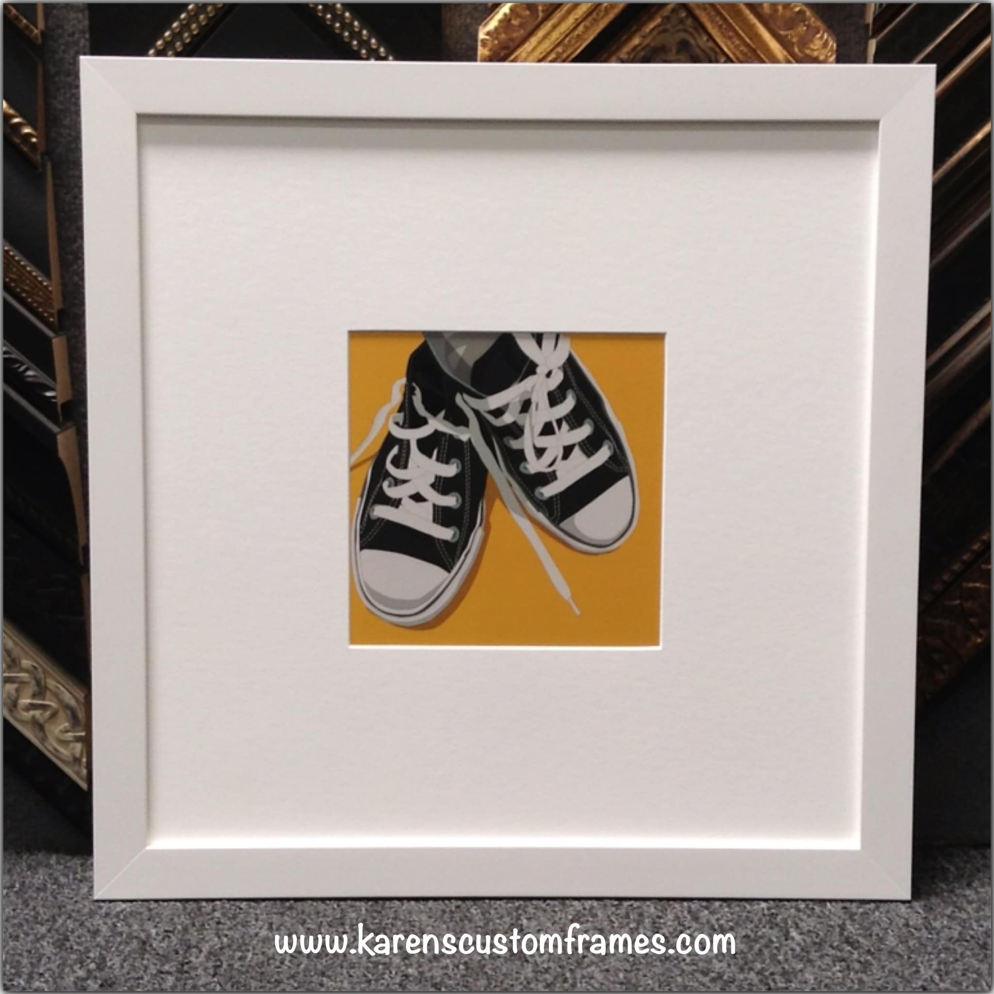 Poster Art | Custom Design and Framing by Karen's Detail Custom Frames, Orange County CA