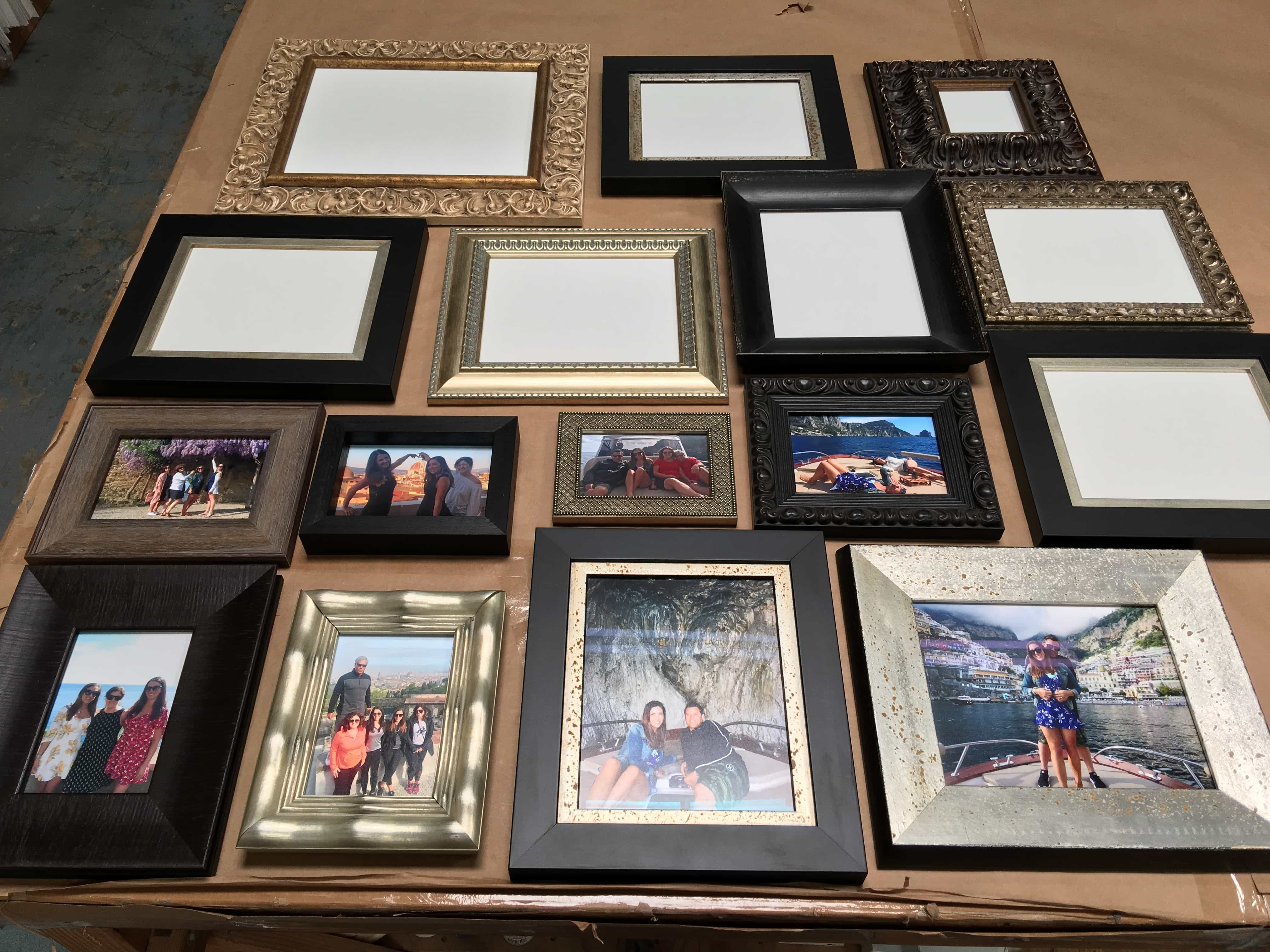 Ready Made Frames by Karen's Detail Custom Frames, Orange County CA