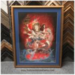 Original Canvas Art | Custom Design and Framing by Karen's Detail Custom Frames, Orange County CA