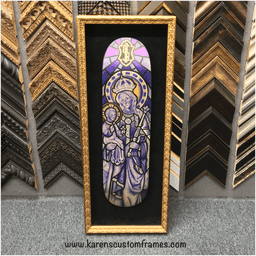 Skate Board Deck | Custom Design and Framing by Karen's Detail Custom Frames, Orange County CA