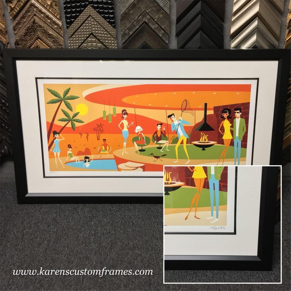 Fine Art Print Custom Frame