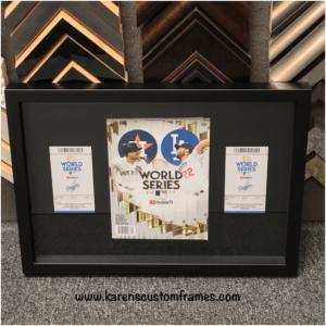 Display Box | Family Memories | Custom Design and Framing by Karen's Detail Custom Frames, Orange County CA