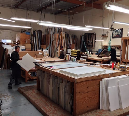 Production Studio | Custom Design and Framing by Karen's Detail Custom Frames