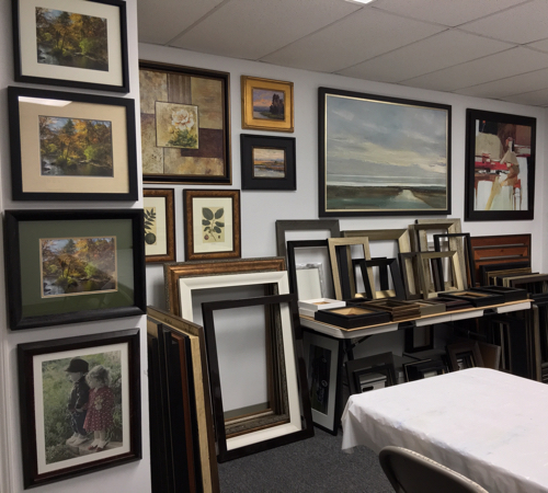 Showroom | Custom Design and Framing by Karen's Detail Custom Frames