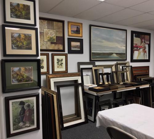 Showroom   Custom Design and Framing by Karen's Detail Custom Frames