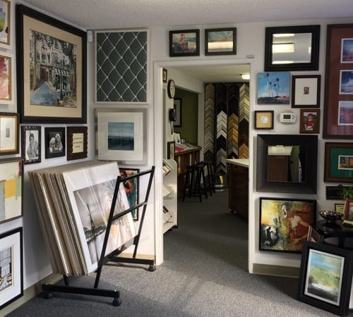 Design Showroom | Custom Design and Framing by Karen's Detail Custom Frames
