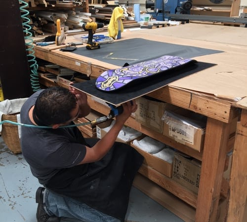 Skateboard Framing | Custom Design and Framing by Karen's Detail Custom Frames