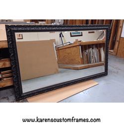 Mirror 5 | Custom Framed Mirrors | Custom Design and Framing by Karen's Detail Custom Frames