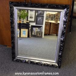 Mirror 3 | Custom Framed Mirrors | Custom Design and Framing by Karen's Detail Custom Frames