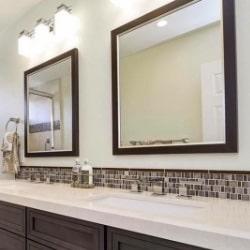 Mirror 10 | Custom Framed Mirrors | Custom Design and Framing by Karen's Detail Custom Frames