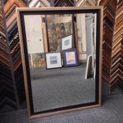 Mirror 9 | Custom Framed Mirrors | Custom Design and Framing by Karen's Detail Custom Frames