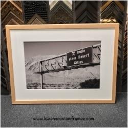 Photography Fine Art Print | Custom Design and Framing by Karen's Detail Custom Frames