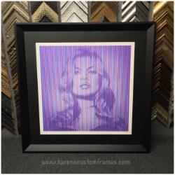 Signed Limited Edition Fine Art Print   Custom Design and Framing by Karen's Detail Custom Frames