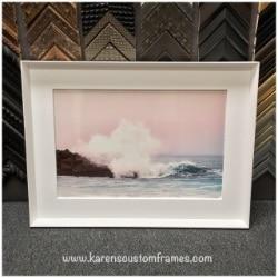 Fine Art Photography on Metal    Custom Design and Framing by Karen's Detail Custom Frames
