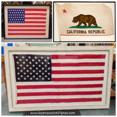Flag Custom Framing
