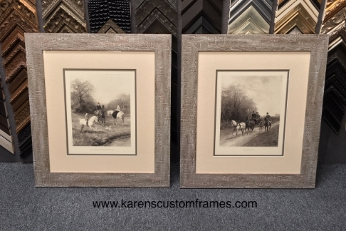 Vintage Art Framing