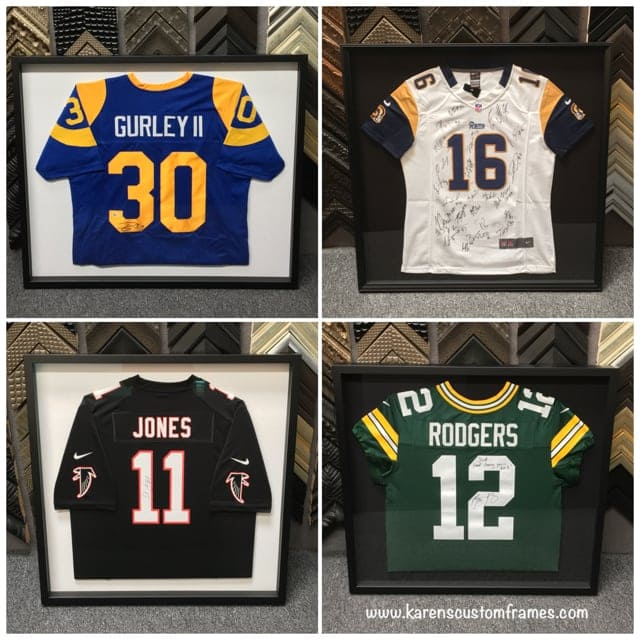 Football Jersey Display Frames