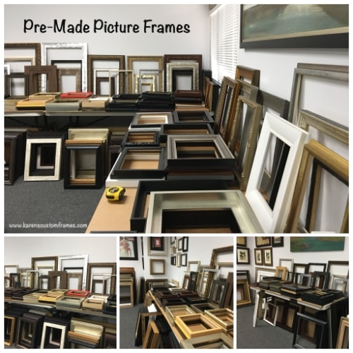 Low Budget Picture Framing