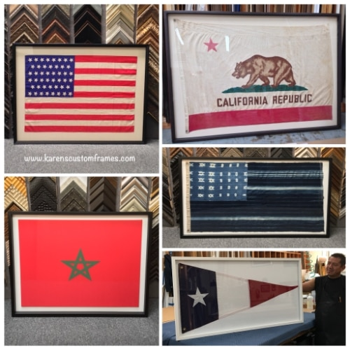 Textile Custom Framing